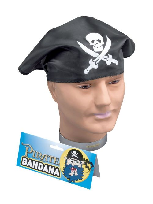 Pirate Bandana Buccaneer Sailor Jack Blackbeard Fancy Dress Accessory